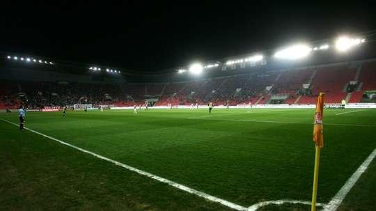 Stadium of SK Slavia Prague