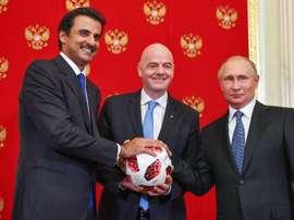 Les Al-Thani veulent profiter de la situation du Napoli pour l'acheter. AFP