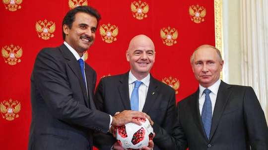 The Qatar World Cup could be the first edition of the tournament to host 48 teams. AFP