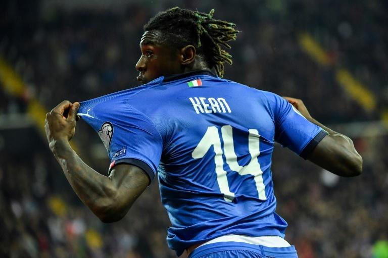 Juventus striker Moise Kean dismisses father's 'tractor' claims