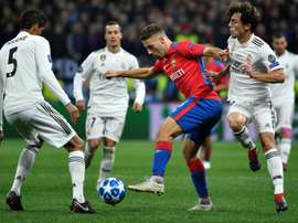 El futbolista croata anotó uno de los goles más especiales de su carrera. AFP