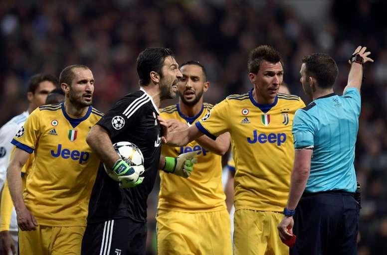 Chiellini revient sur le penalty de Benatia en 2018. AFP