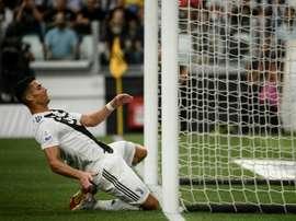 Ronaldo struggles to score against Lazio. AFP