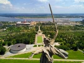 El Volgograd Arena alberga esta final. AFP