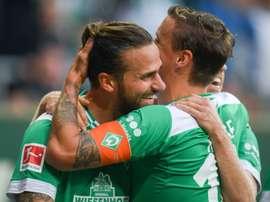 Bremen are unbeaten in their last ten games. AFP