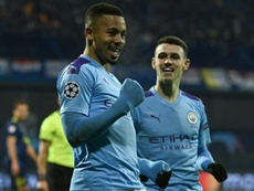 Jesus hat-trick lifts Man City's mood in Zagreb. AFP