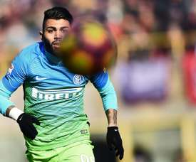 Gabriel Barbosa has struggled since joining Inter Milan. AFP