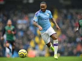 Sterling ne pense pas à quitter City. AFP