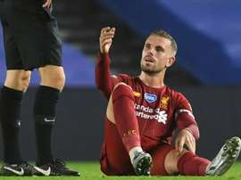 Liverpool captain Henderson out for rest of season. AFP