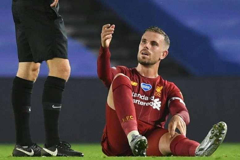 Henderson se despide de la temporada. AFP