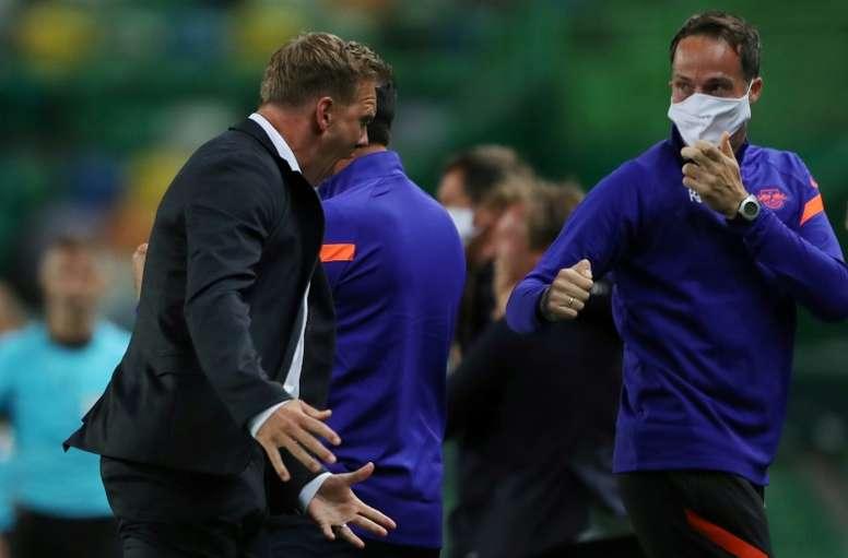 'Proud' Leipzig boss Nagelsmann relishing facing ex-mentor, PSG coach Tuchel. AFP