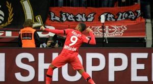 El Bayer Leverkusen nunca ha conquistado la Bundesliga. AFP