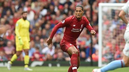 Liverpool defender Virgil van Dijk believes his side are ready to win major silverware. AFP