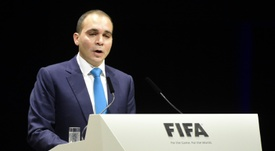 Prince Ali urges FIFA to take action. AFP