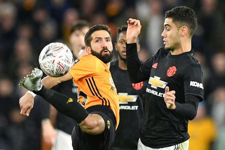 Los Wolves salieron mal parados de su última visita a Barcelona. AFP