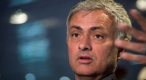 Mourinho talked about the Champions League. AFP