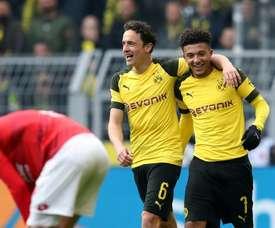 Dortmund face rivals Schalke in a must-win derby clash on Saturday. AFP