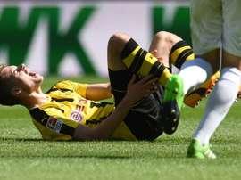 O jogador de 21 anos tem sido destaque no BVB desde que chegou ao clube, em 2015. AFP
