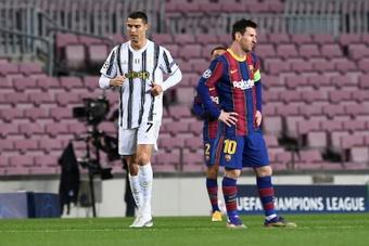 Gary Neville tranche dans le débat Ronaldo-Messi. AFP
