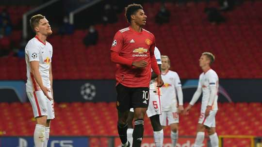 Rashford stars again for Man Utd in Champions League as Barcelona beat Juventus. AFP