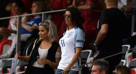 Cruce de palabras entre las esposas de Rooney y Vardy. AFP