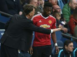 Timothy Fosu-Mensah says that Jose Mourinho does give young players opportunities. AFP