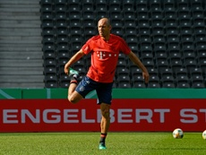 Robben and Ribery on bench for cup final farewell. AFP