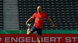 Robben ci ripensa: 'Potrei decidere di tornare a giocare'. AFP
