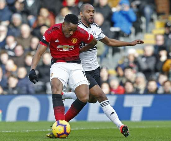 Martial got United's second with a brilliant solo goal. AFP