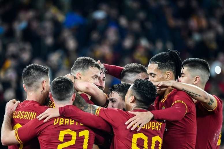 Roma announced they had parted company with Nike. AFP