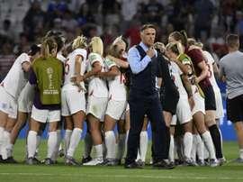 England suffered World Cup heartbreak last night. AFP