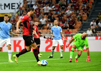 Il Diavolo stende la Lazio. AFP