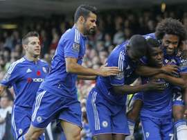 Ramires left Chelsea for China. AFP