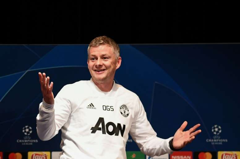 El United va de víctima en la eliminatoria. AFP