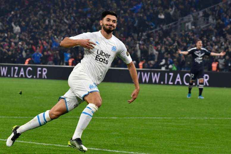 Marseille won. AFP