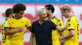 El Borussia no fichará más. AFP