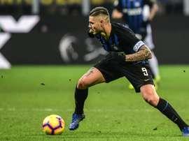 Icardi não renovará com a Inter. AFP