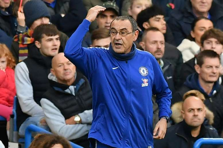 Sarri wasn't happy with his side's arrogance. AFP