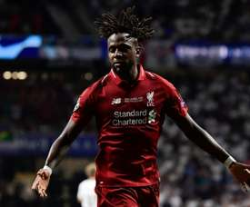 Origi's future at Liverpool could be in doubt. AFP