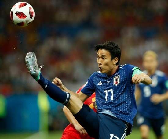 Makoto Hasebe lleva diez años en Alemania. AFP