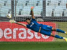 Buffon è il giocatore con più presenze. AFP