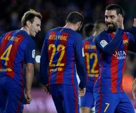 'Barça' prepara 'limpeza' no seu elenco. AFP