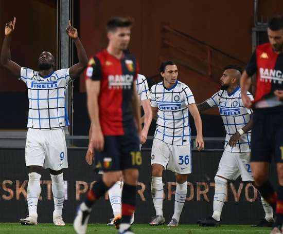 'Rough diamond' Lukaku gets Inter back on track, Sampdoria shock Atalanta. AFP