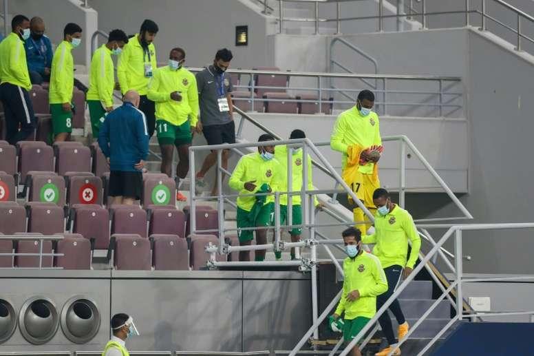 Al-Ahli have been eliminated. AFP