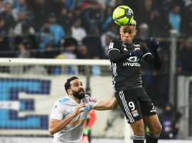 Depay's late goal claimed Lyon a vital win. AFP