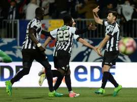 Mangani offre la victoire à Angers. AFP