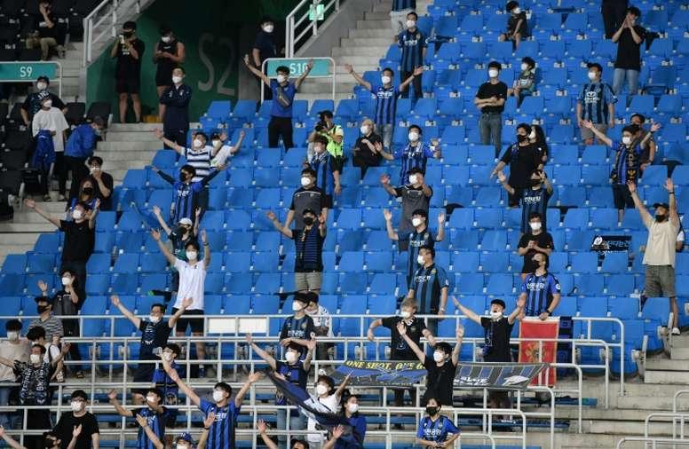 El fútbol lucha por sobrevivir a la crisis del coronavirus. AFP/Archivo