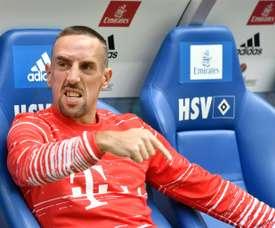 Sorprendentemente, Franck Ribéry es el mejor asistente del momento. AFP