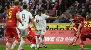 Neuer says Bayern could have scored more goals v Cologne. AFP