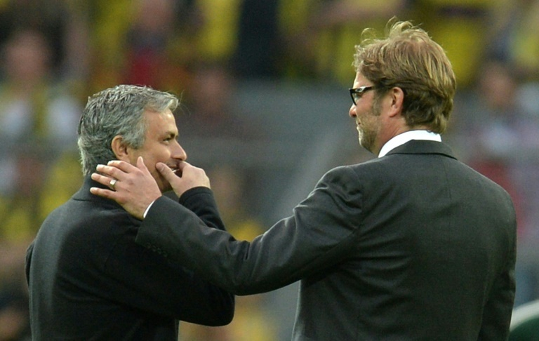Liverpool boss Jurgen Klopp says making Jose Mourinho smile 'doesn't happen often'